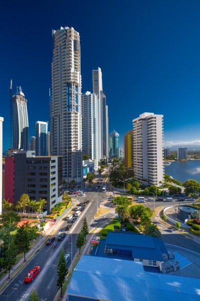 Australia_Highrises in Surfers Paradise400