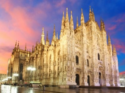 Milano_Milan cathedral dome400x300