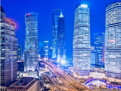 Shanghai Skyline400x300