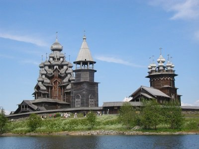 Kizhin saaren siluetti400x300