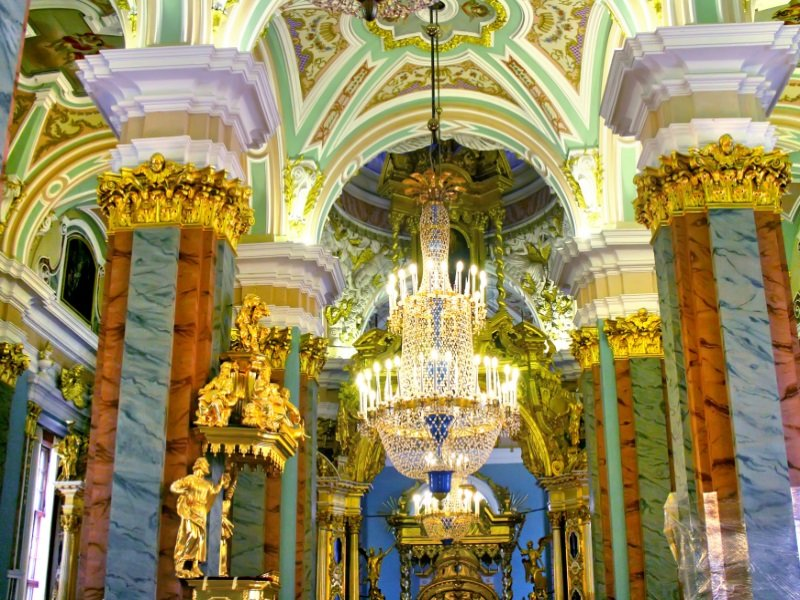 Pietari_Peter and Paul cathedral in Peter and Paul Fortress, St. Petersburg, Russia_800x600