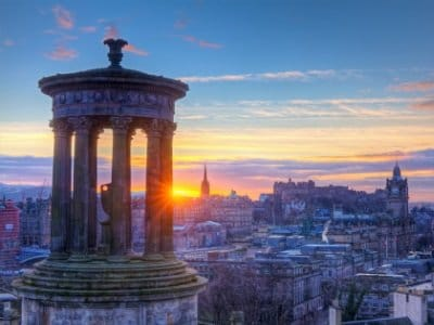 Scotland Edinburgh Calton Hill400x300