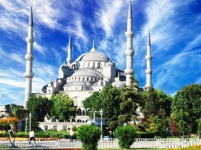 Istanbul_The Blue Mosque Turkey400x300