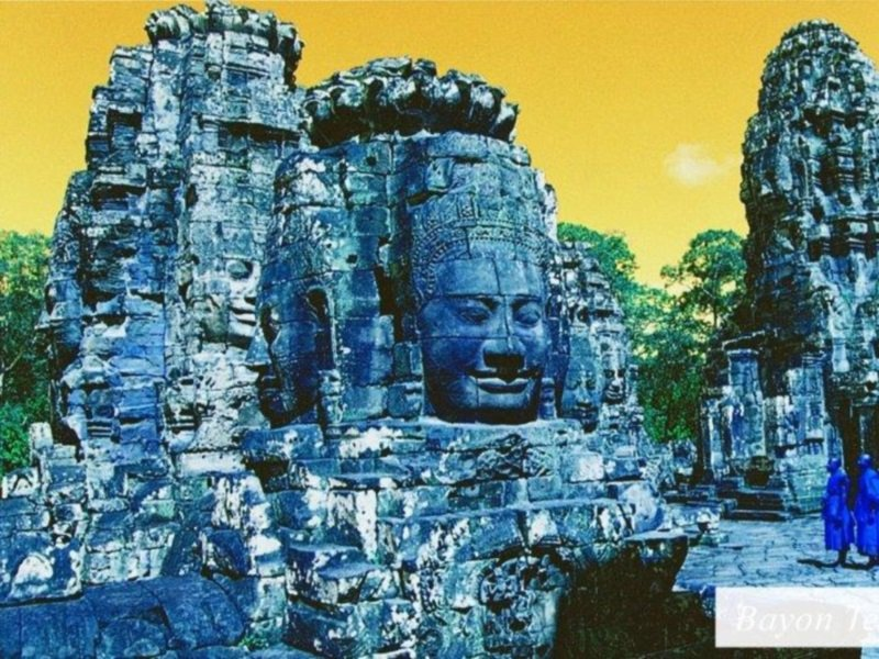 Vietnam_Bayon Temple_800x600