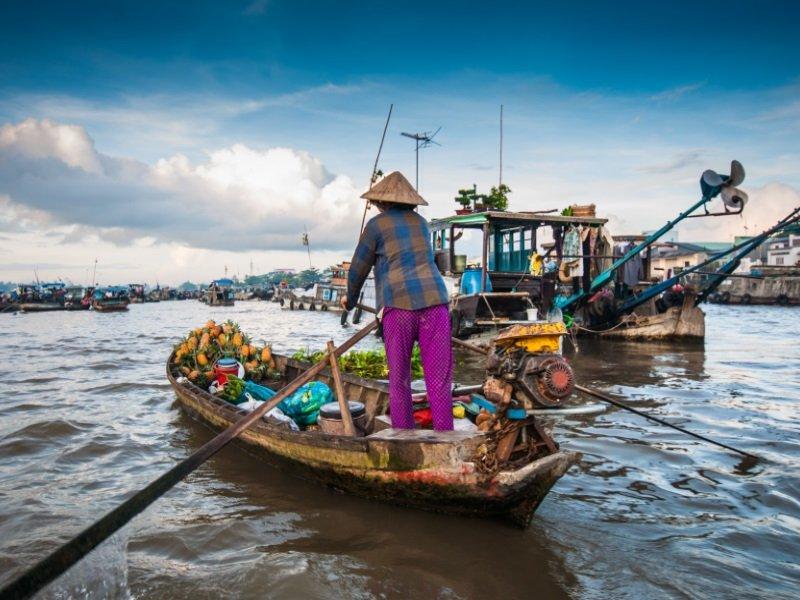Vietnam_Cai Rang floating market, Can Tho, Vietnam_800x600