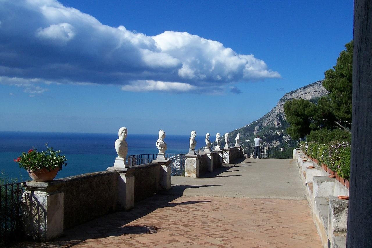 Italia Amalfin rannikko Sorrento ja Rooma