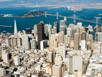 Usa_San Francisco_city aerial_400X300