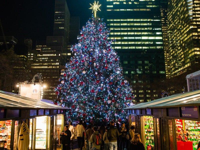 USA New York Joulutorit