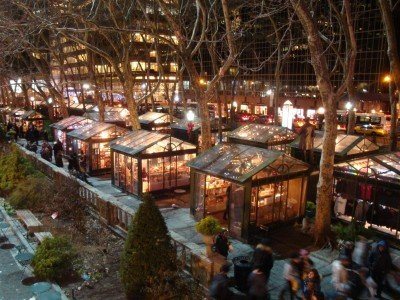 Bank of America Winter Village at Bryant Park, Photo by Bryant Park Corporation - 1_800x600