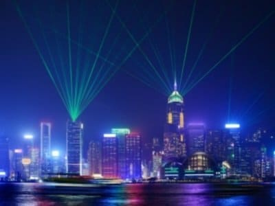 Hong Kong at night from across Victoria Harbor_400x300