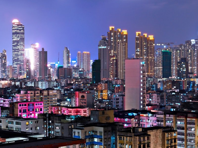 Hong Kong kaukomatka