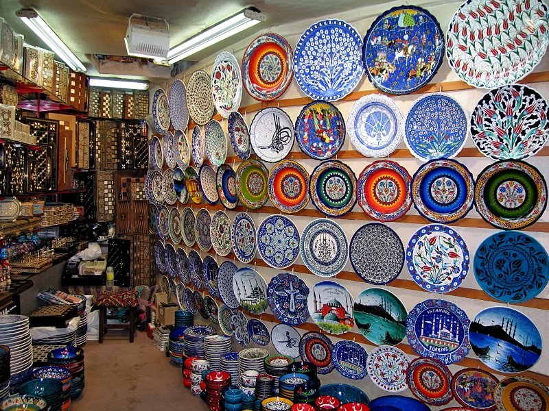 Istanbul_A shop in the Grand Bazaar_800x600