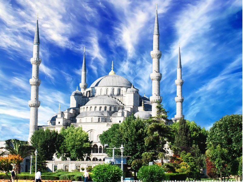 Istanbul_The Blue Mosque_800x600