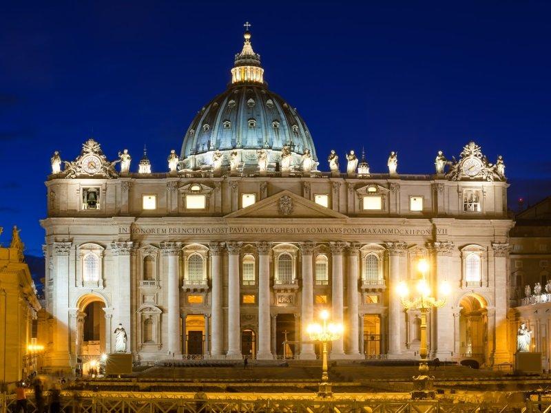 Italia_St Peter s Basilica in Rome, Vatican Italy_800x600