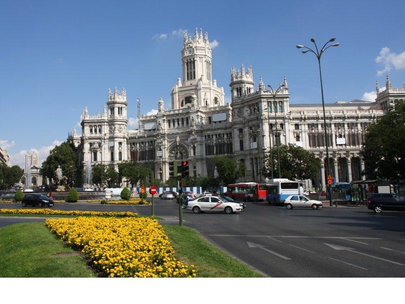 Madrid_Plaza de Cibeles_800x600