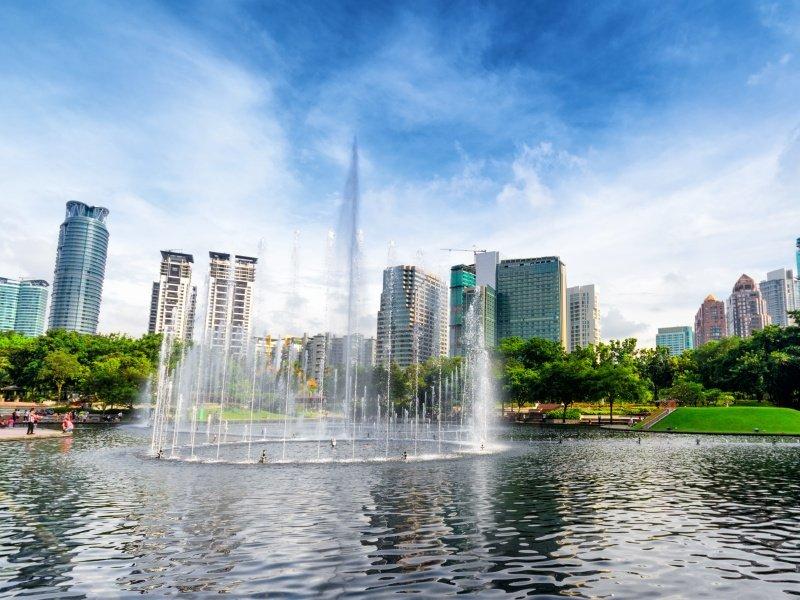Malesia_Downtown of Kuala Lumpur_800x600