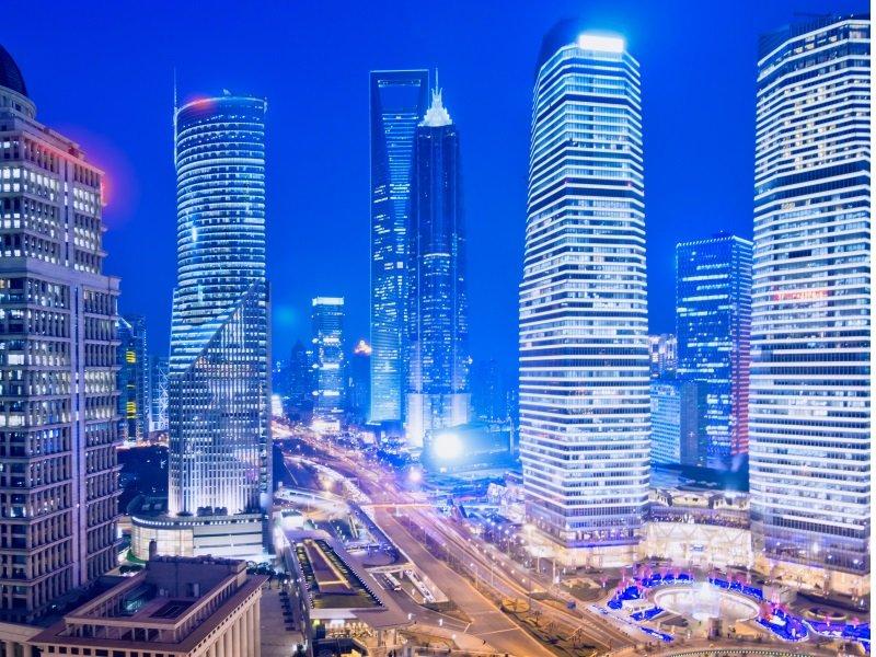 Shanghai Skyline-800x600