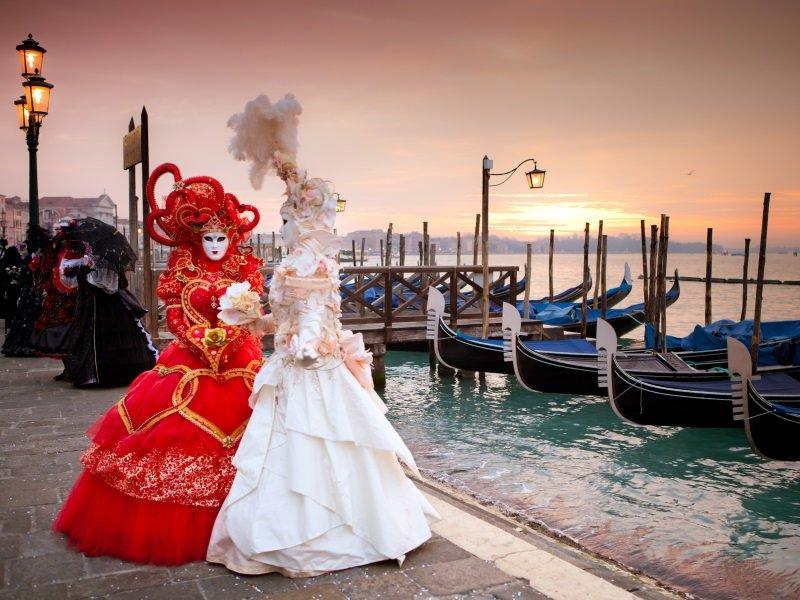 Italia Venetsian karnevaalit