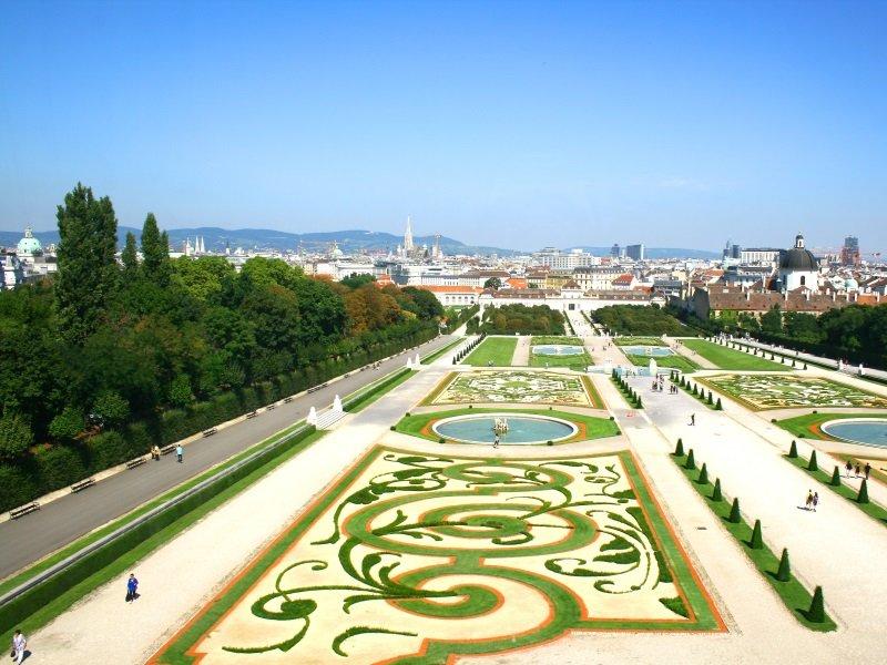 Wien_Park Belvedere in Vienna_800x600