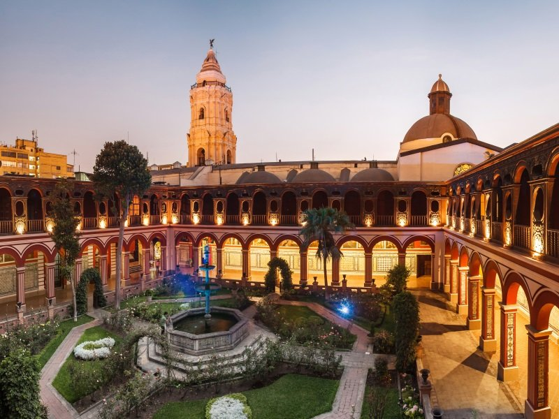 Peru_Lima_Santo Domingo Monastery_800x600