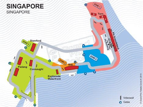 singapore_GRAND PRIX TICKETS by Christoph Ammann