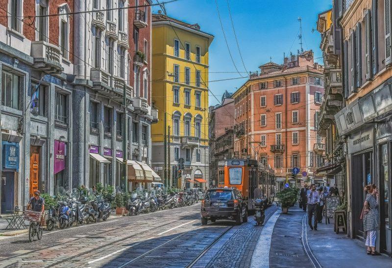 Milano Rooma Klassinen kiertomatka