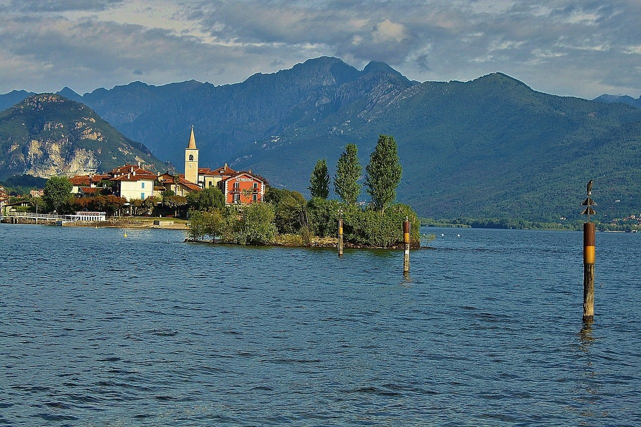 Italia Maggiorejärvi ryhmille