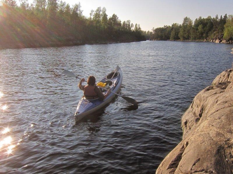 Venäjä Karjala koskenlaskua ryhmämatka