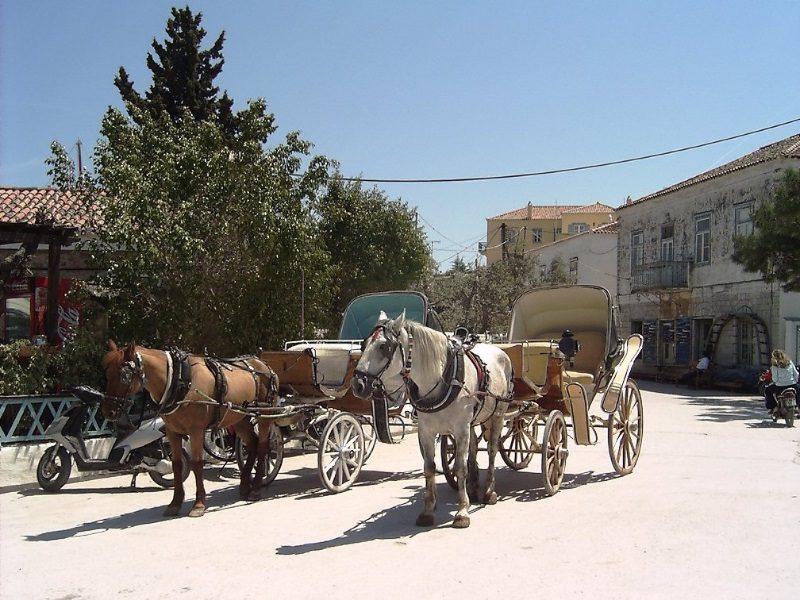 Kreikka häät Spetseksen saari