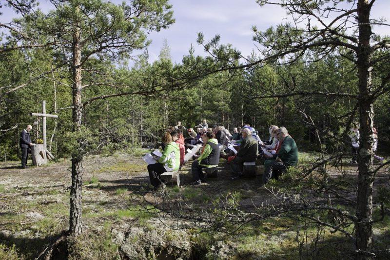 Laurin luontokirkko Kuva: Lauri Rotko
