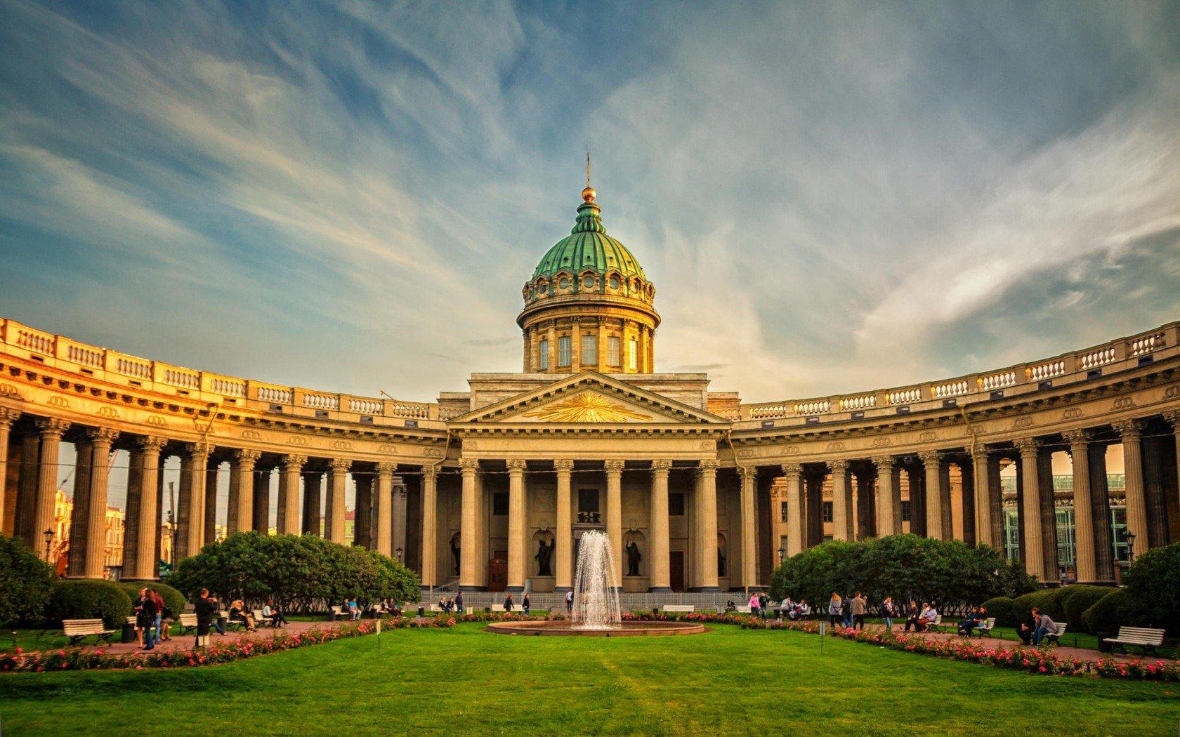 Venäjä_Pietari_Kazanin kirkko