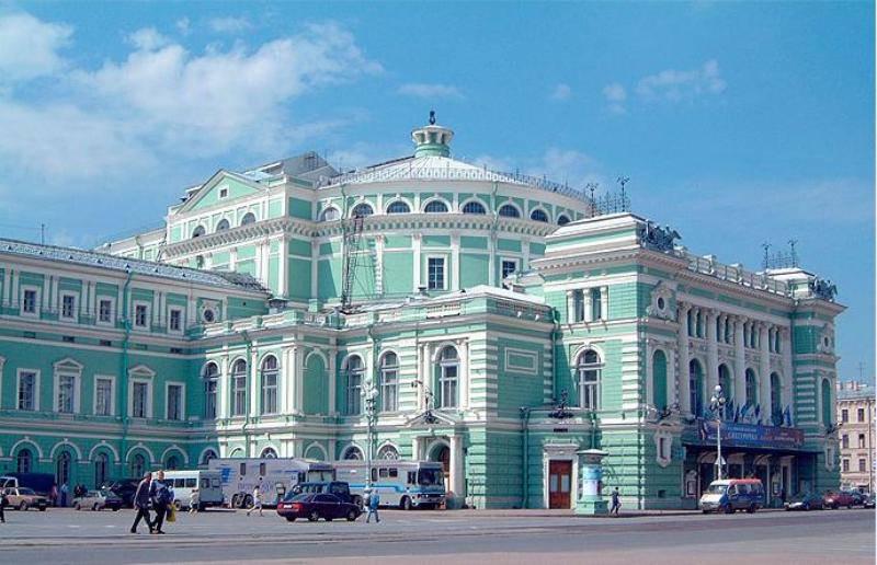Venäjä_Pietari_Mariinski teatteri vanha näyttämö