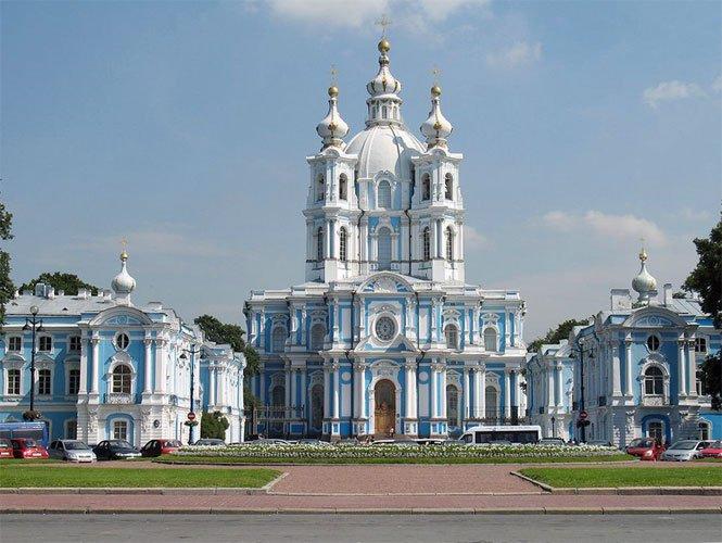 Venäjä_Pietari_Smolnan kirkko