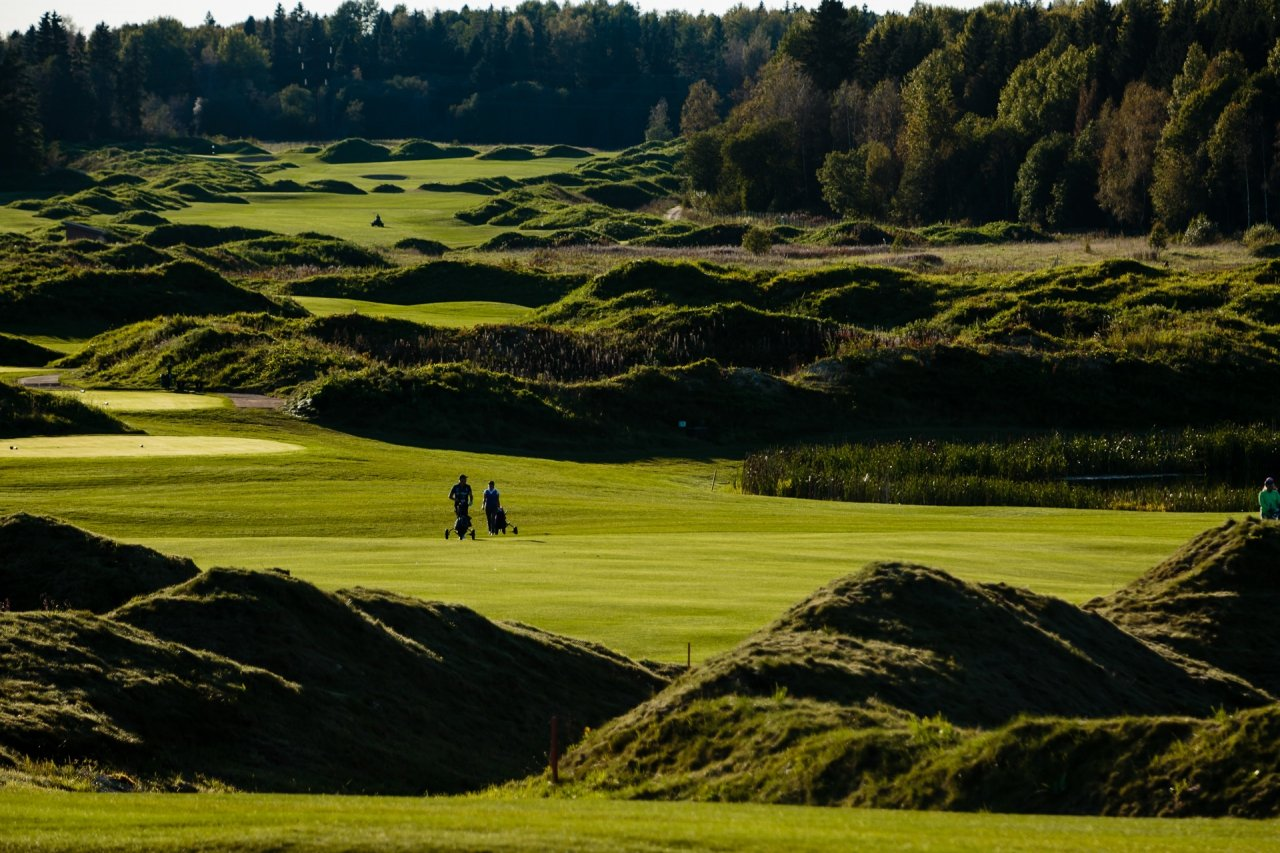 Pietari-Gorki-Golf-Club-kenttä