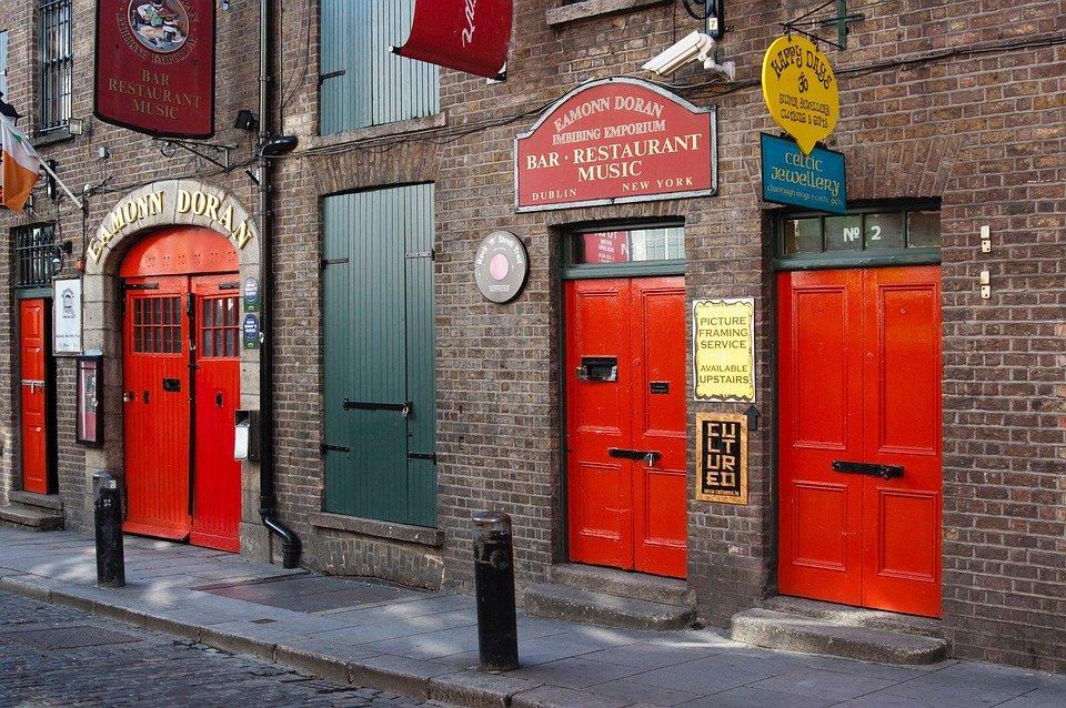 Irlanti Dublin ryhmille