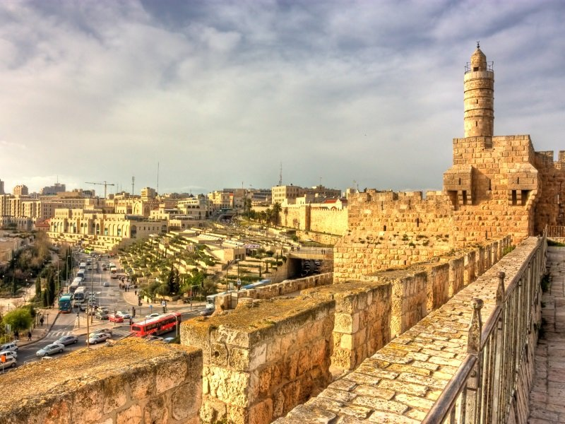 Israel_David's tower (citadel), the old city of Jerusalem, Israel_800X600