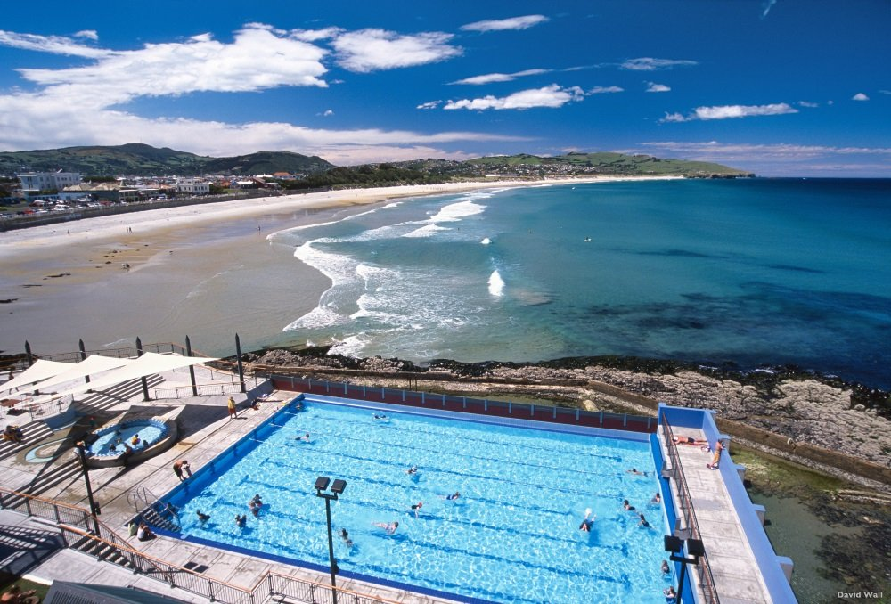 St Clair Hot Salt Water Pool, St Clair Beach, Dunedin