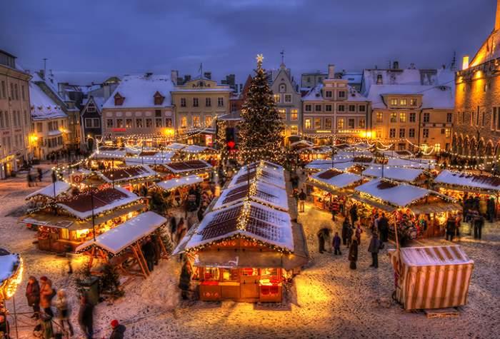 Viro Tallinna pikkujoulumatka ryhmille