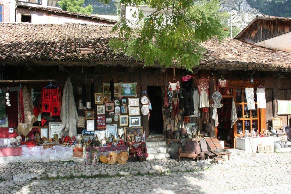 Albania-Bazar in Kruja-1000