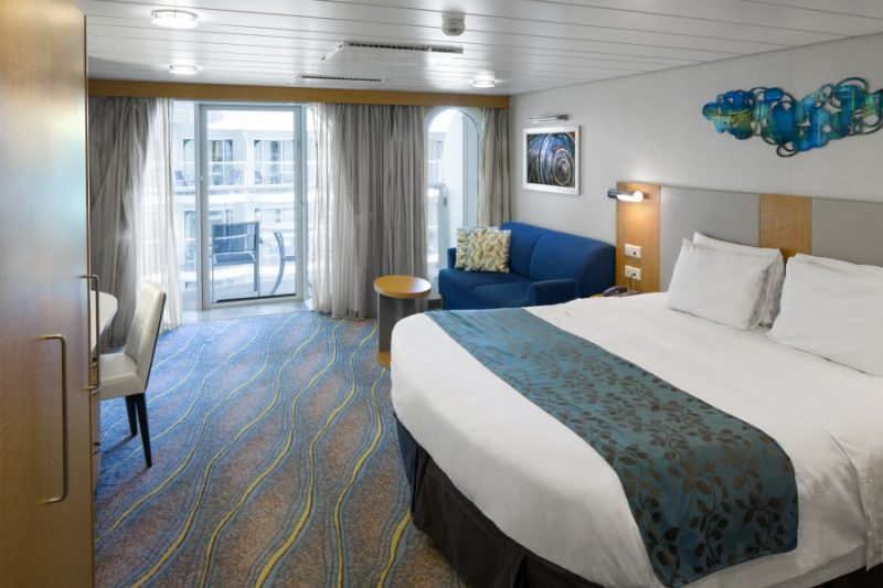 AL, Allure of the Seas, Accessible Boardwalk View Stateroom w/Balcony Cat. B2 -Room #14297