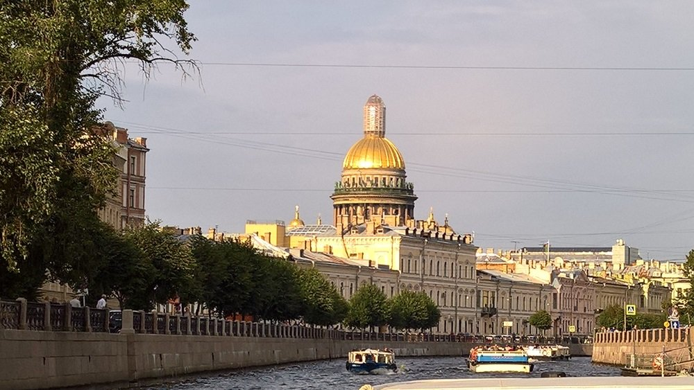 Venäjä-Pietari-kanavaristeilyllä - 1000