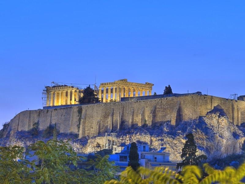 Kreikka Ateena kaupunkiloma