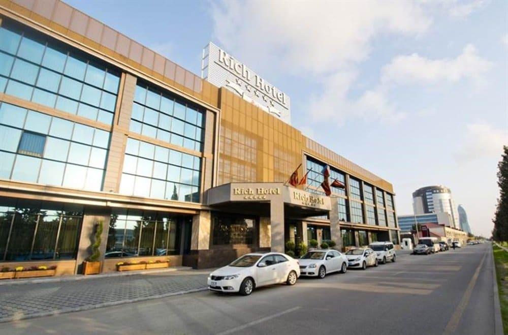 Baku-Azerbaijan-Rich hotel-ulko