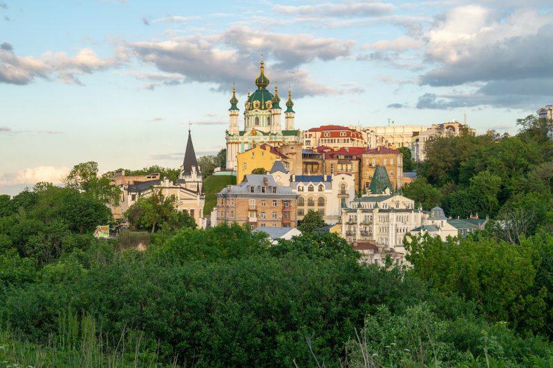 Ukraina Kiova kaupunkiloma