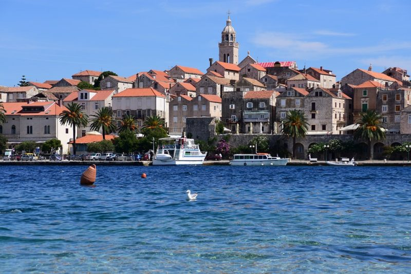 Kroatia risteily Dubrovnikista Splitiin