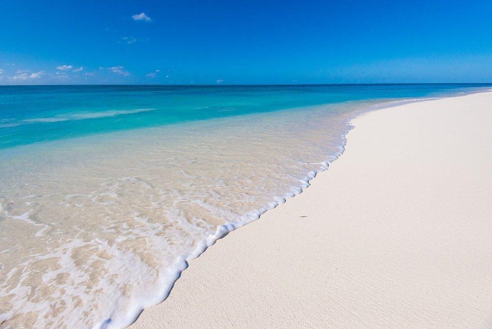 Denis Island rantaviivaa