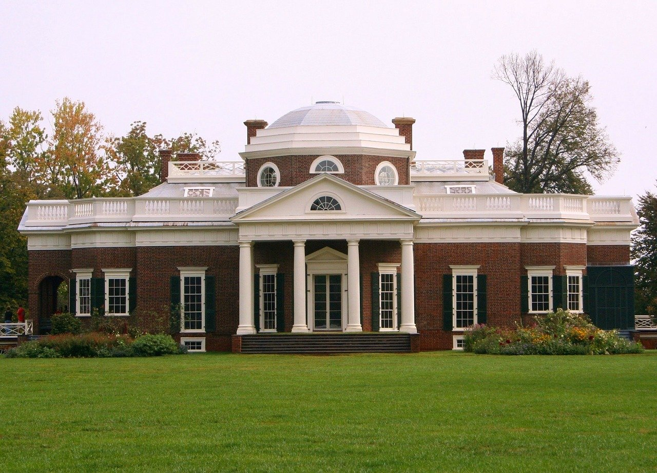 USA-Charlottesville-Virginia-monticello-tomas-jefferson-museo-1280