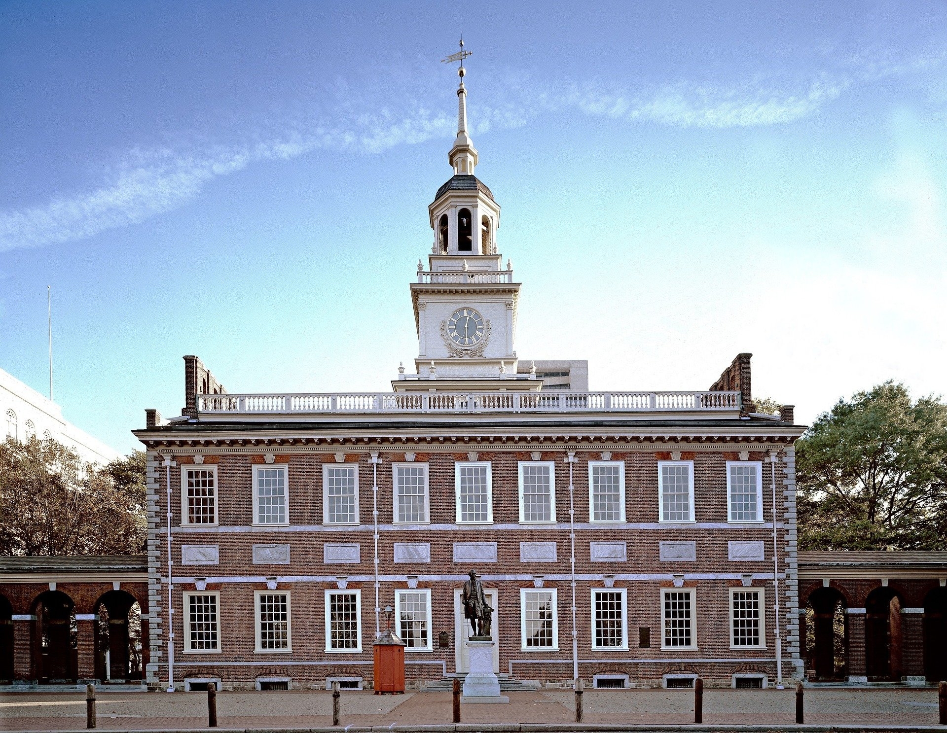 USA-Philadelfia-independence-hall-1920
