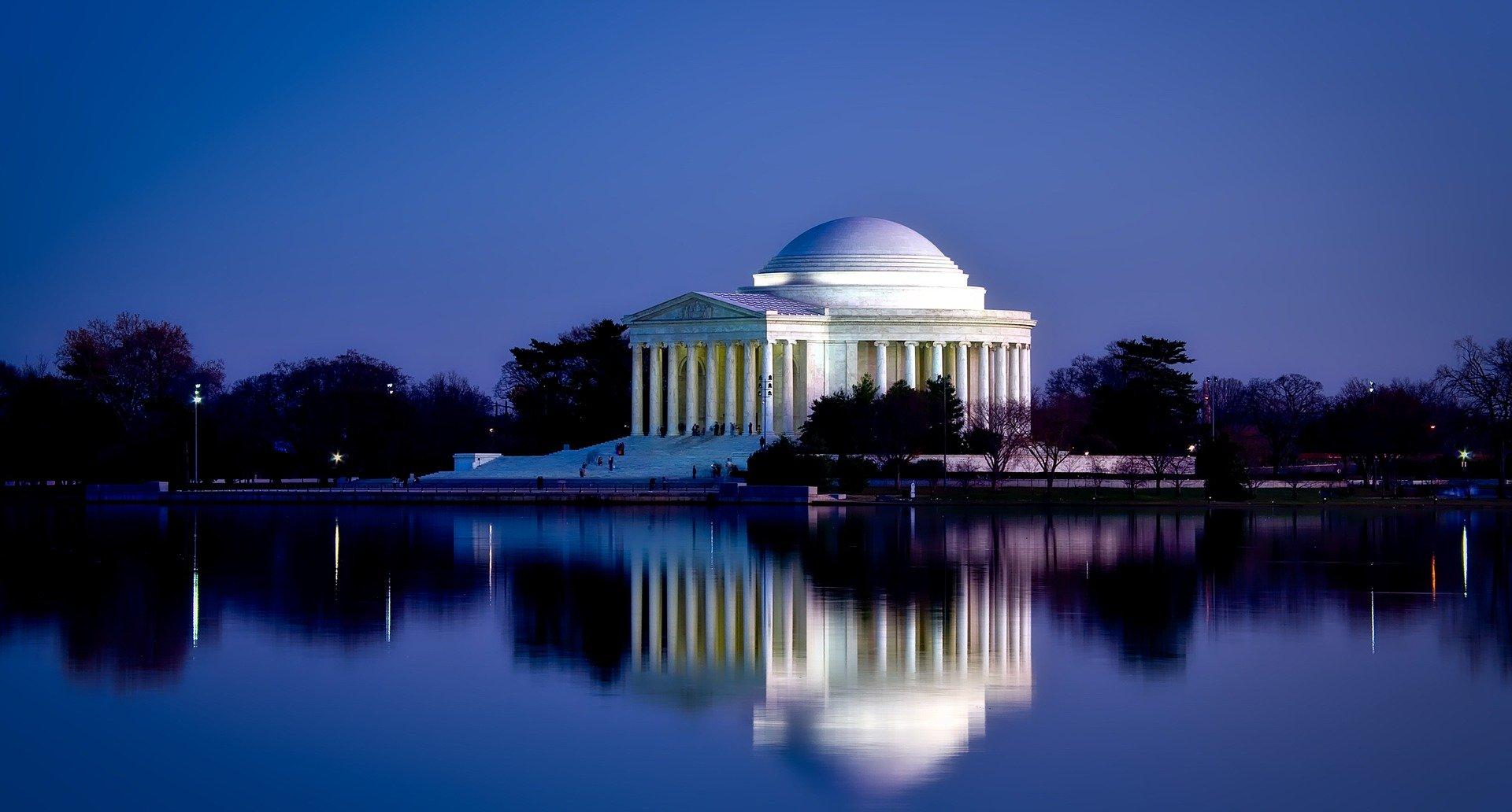 USA-Washington-jefferson-memorial-1920
