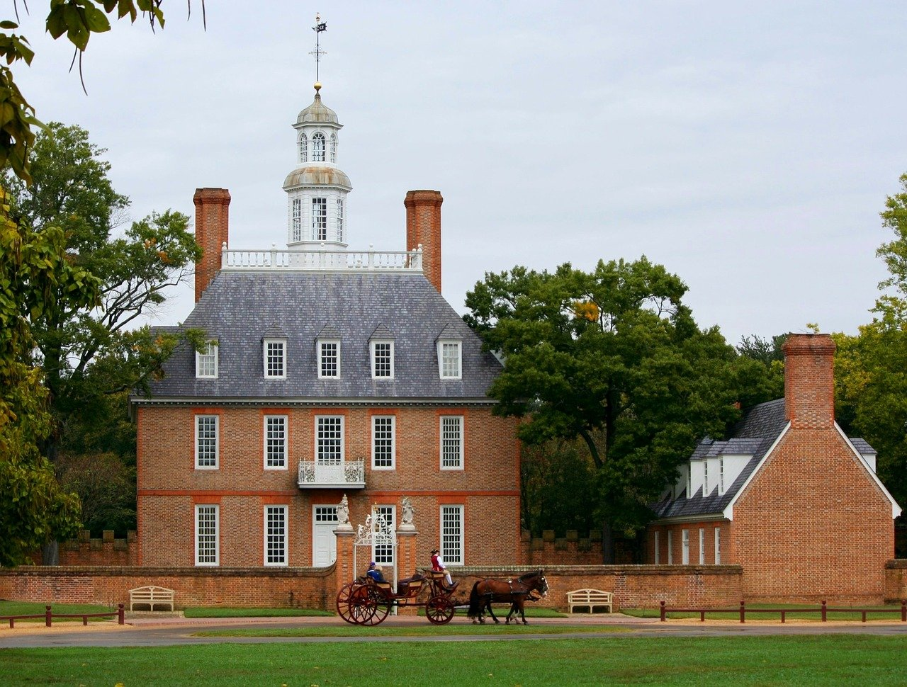 USA-Williamsburg-Virginia-governors-palace-1280